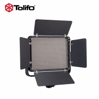 Tolifo图立方PT-1000S魅影LED摄像补光灯单调光60W