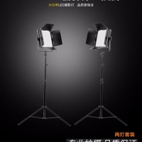 Tolifo图立方极光GK-J-1200AB影视灯LED补光灯双调光双灯套装