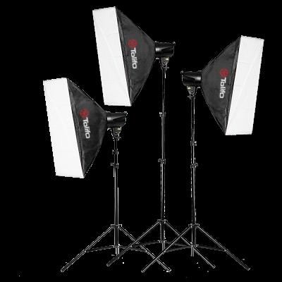 Tolifo图立方龙卷风T-180B数码闪光灯三灯套装