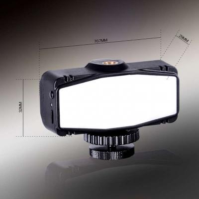 Tolifo图立方LED手机补光灯HF-1201美颜神器2.4W