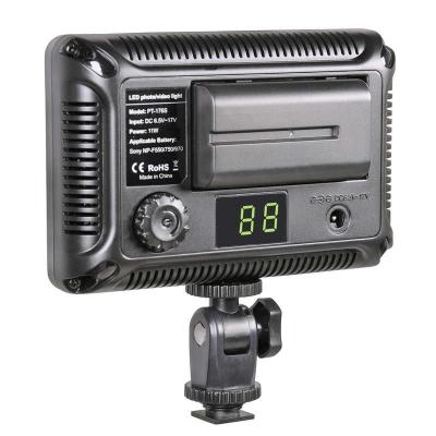 Tolifo图立方PT-176S魅影LED摄像机顶补光灯单调光