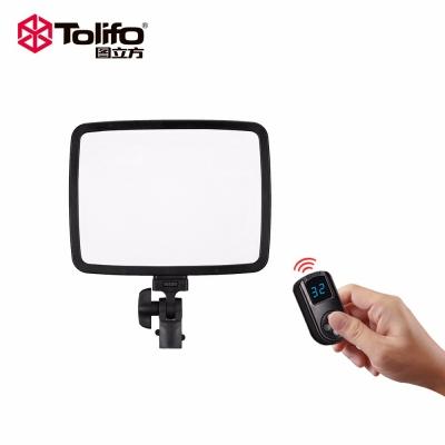 Tolifo图立方PT-24B双调光LED摄像补光灯24W