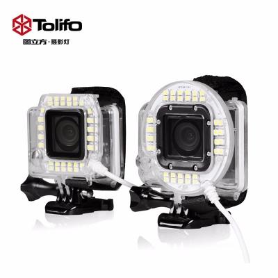 图立方LED运动相机补光灯HF-38/40