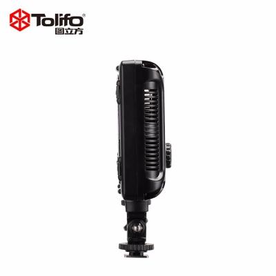 Tolifo图立方PT-308S二代魅影LED摄像机顶补光灯单调光